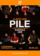 Pil + Kagoule + Doe - Louisiana - Bristol