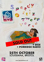 Speedy Ortiz - Louisiana - Bristol - Sold Out