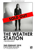 The Weather Station - Crofters Rights - Bristol - Sold Out