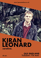 Kiran Leonard - Bristol - Old England - 1% of One - Caroline - Mora Telsnake