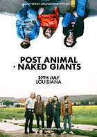Post Animal - Naked Giants - Louisiana - Bristol - 1% of One