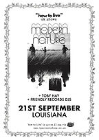 Modern Nature - Louisiana - Bristol - Toby Hay - 1% of One - Friendly Records DJs