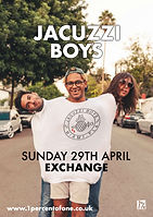 Jacuzzi Boy - Exchange - Bristol