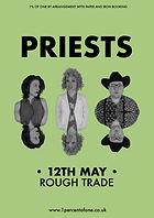 Priests - Bristol - Rough Trade - Apostille - 1% of One