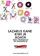 Lazarus Kane - Kiwi Jr - Agata - 1% of One - Old England - Bristol - Sold Out