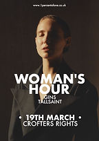 Woman's Hour - Bristol - Crofters Rights - 1% of One