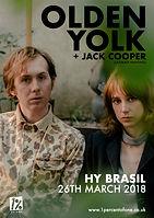 Olden Yolk + Jack Cooper - Hy Brasil - Bristol