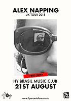 Alex Napping - Hy Brasil - Bristol