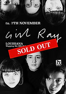 Girl Ray - Louisiana - Bristol - Sold Out