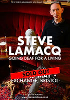 Steve Lamacq - Bristol - Exchange - Going Deaf For A Living - 1% of One - Sold Out