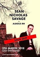 Sean Nicholas Savage + Aldous RH - Old England - Bristol