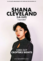 Shana Cleveland - La Luz - Crofters Rights - Bristol - 1% of One