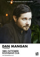 Dan Mangan - Bristol - Hailaker - 1% of One - Southbank Club