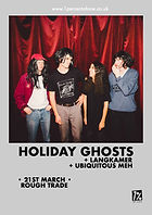 Holiday Ghosts - Rough Trade - Bristol - Langkamer - 1% of One