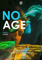 No Age + Heavy Lungs - Bristol - Exchange