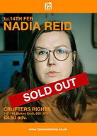 Nadia Reid - Bristol - Crofters Right - Sold Out