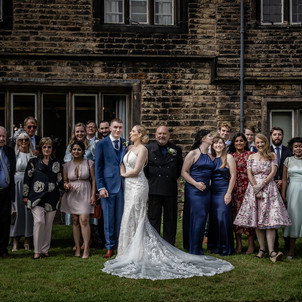 Wedding group shots