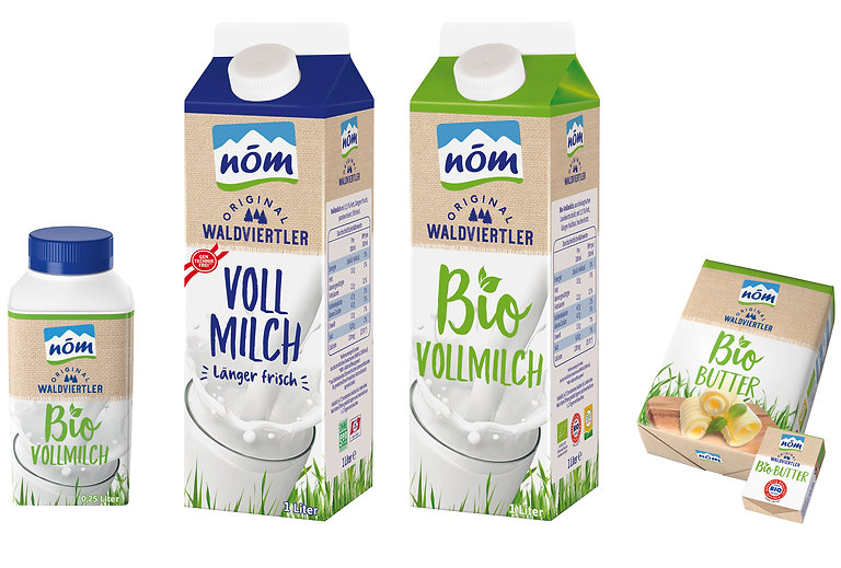 NÖM Original Waldviertler / Logo und Packaging Redesign