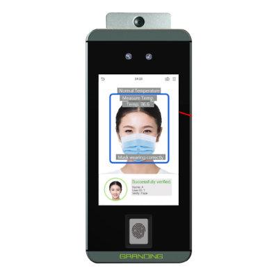 Lector de reconocimiento facial y toma de temperatura FacePro1