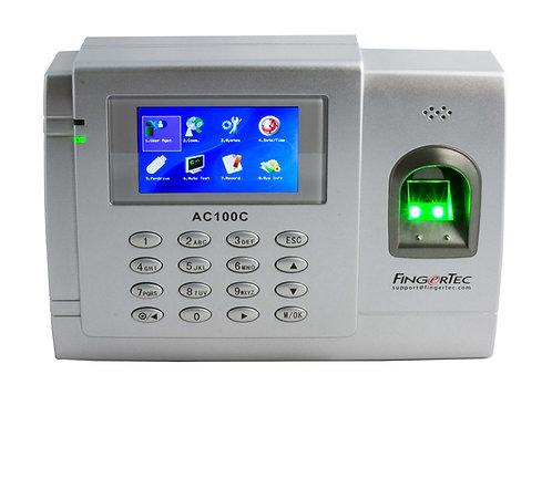 Reloj marcador huella digital FINGERTEC AC100C