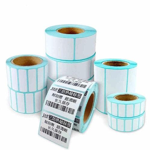 Rollos de etiquetas adhesivas para impresoras