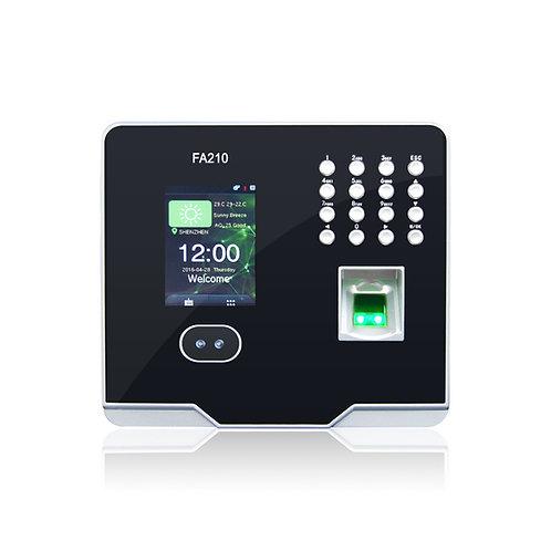 Reloj marcador de reconocimiento facial y huella digital GRANDING FA-210