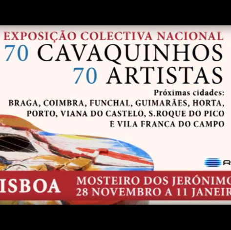 70 CAVAQUINHOS 70 ARTISTAS
