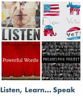 Fall '21 Series:  Listen, Learn.. Speak