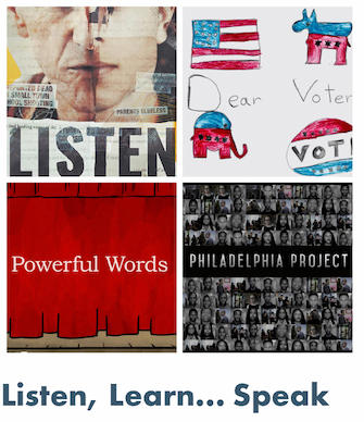 Fall '21 Series:  Listen, Learn.. Speak