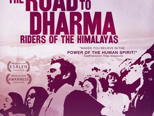Here's to Ripples from THE ROAD TO DHARMA:  Our First Screening Salon Series