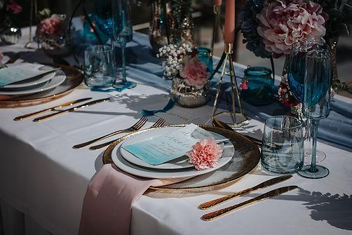 decoration mariage table couleur