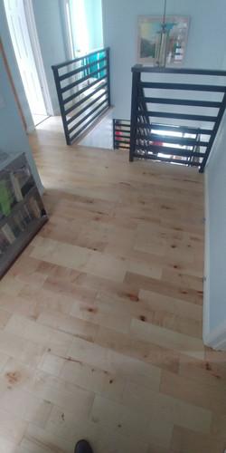 Hardwood floors installation
