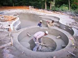 Pool & Hot tub installation