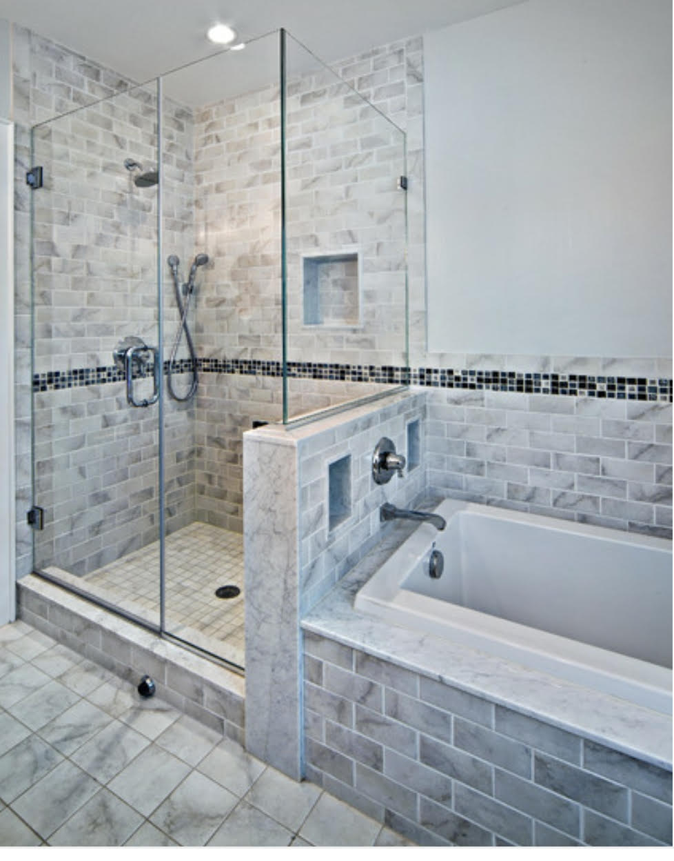 Traditional bathroom renovation