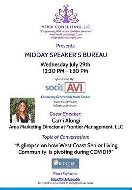 midday speakers bureau flyer July 29 202