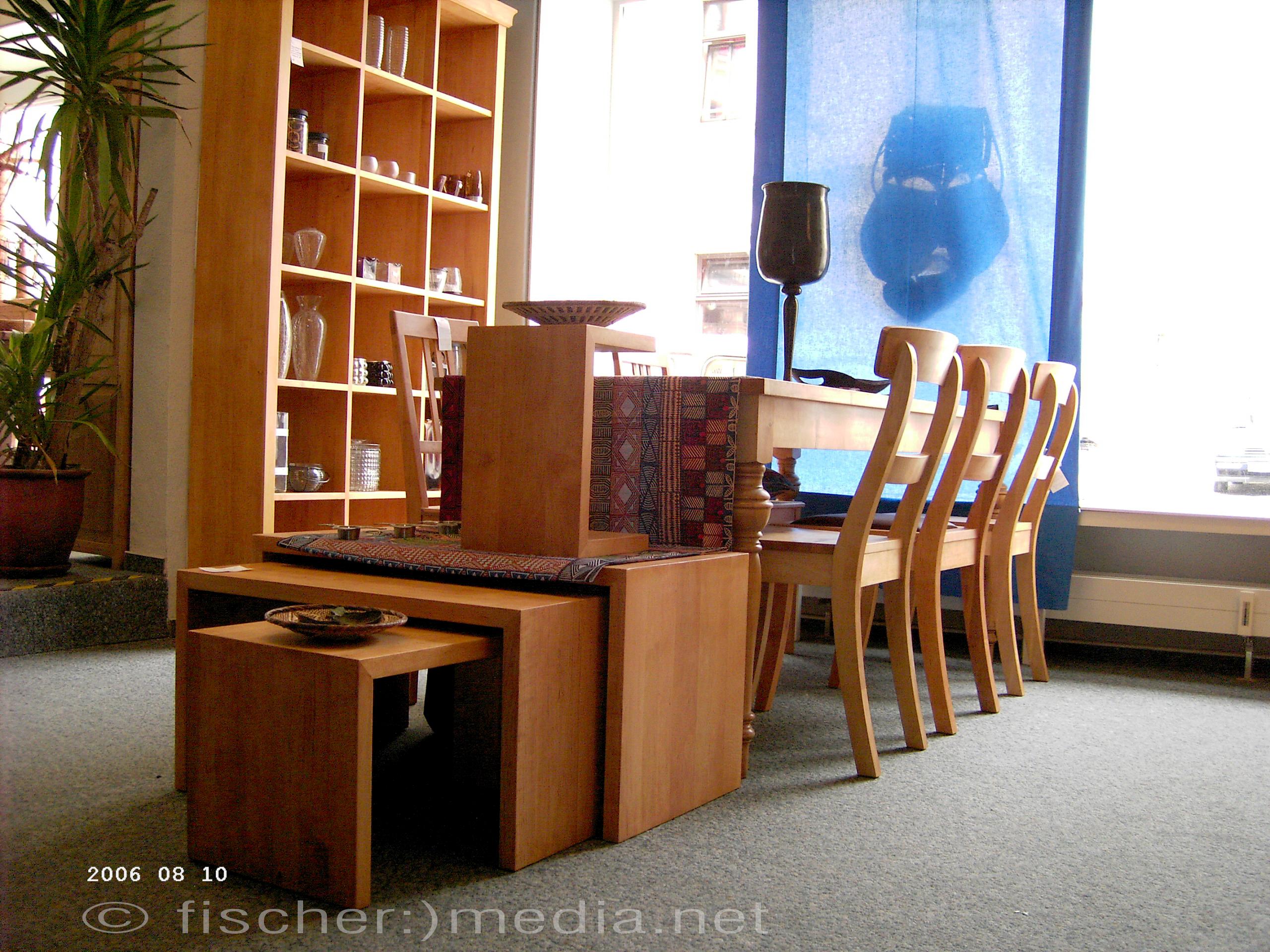 Möbel und Kleinmöbel