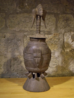 Handgefertigte afrikanische Skulptur