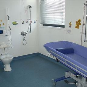 an accessible bathroom