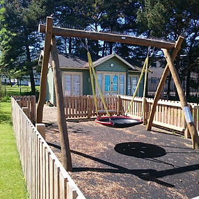 our basket swing