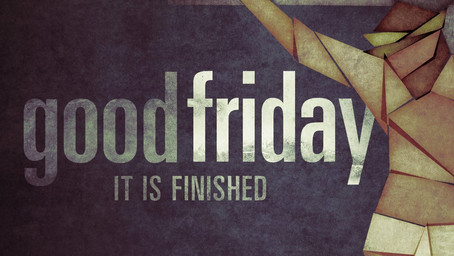 Friday's Reflection – Easter Week Devotionals