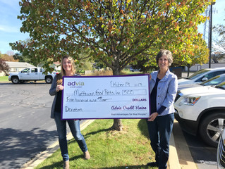 Thank you Advia Credit Union!