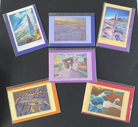 Burren Series - set of 6 cards 10 x15 cm