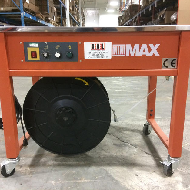 REFURBISHED MINIMAX S/A STRAPPING MACHINE
