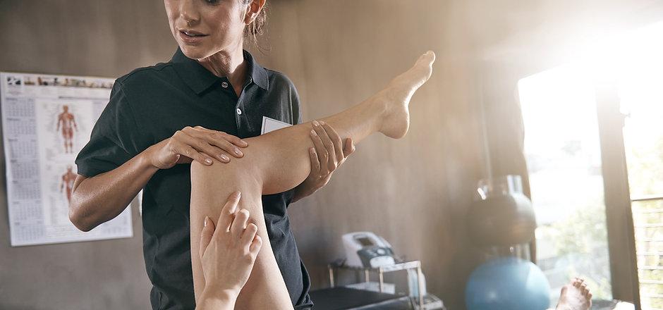 lesão na perna