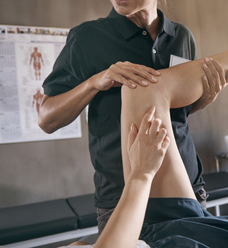 Person getting a myofascial release massage