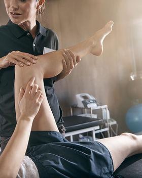 Lesión en una pierna