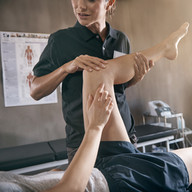 Leg Injury Massage