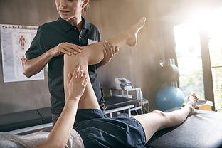Blessure de jambe