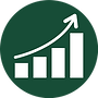 Supports Economic Growth Icon