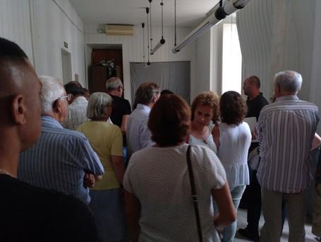 Visita interior ayuntamiento Sitges